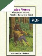 09.Jules Verne - Un Bilet de Loterie. Farul de La Capatul Lumii 1975