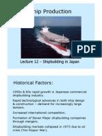 Shipbuilding Lecture12