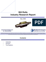 Mill Rolls Industry Research 080701