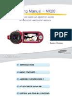 Samsung VP-mx20 Service Manual
