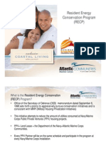 Resident Conservation Utilities Billing Program FRO BRIEF [Compatibility Mode]