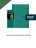 16189144 Bronstein Lev D Trotsky Escritos 19291930 I