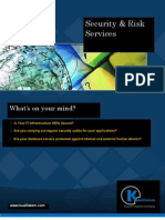 Security Testing and Risk Services Brochure