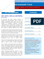 Four-S Fortnightly PharmaHealth Track 9th July - 21st July 2012