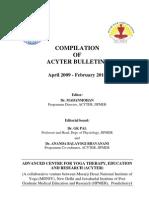 ACYTER_Bulletins2009-2012