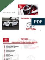 Microsoft Power Point - ToYOTA - Automaker Market Leader - By Khalid AL-Hedary