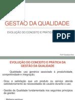 GQ - Evoluçao Conceito e Prática da GQ A1