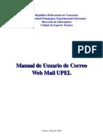 Manual Uso Correo Upel