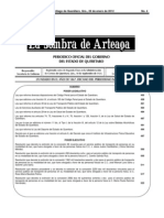 Reformas Del Codigo Penal 2012