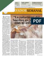 Observador Semanal del  30/08/2012