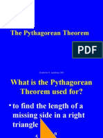 Pythagorean Theorem Presentation