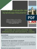 OEAE - Orientacion a Profesores Nuevos CEA (Agosto, 2012)