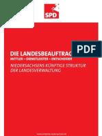 Dialogpapier Die Landesbeauftragten