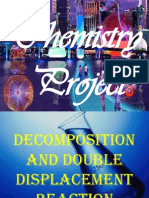 Displacement And Double Decomposition Reaction
