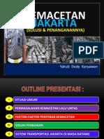 Kemacetan Jakarta Dan Solusi Penanganannya