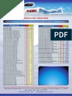 Listas de Precios Tuberia PVC