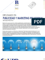 Diplomado en Publicidad y Marketing Relacional Sept 2012