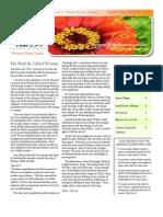 Calvary Chapel Newsletter September-October 2012