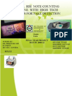 Currency Counting Machine With Fake Note Detection Ppt