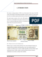 Currency Counting Machine With Fake Note Detection Project Report