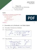 .Clase 04 - Velocidades y aceleraciones por derivación