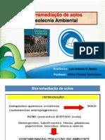 Apresentação_Bioremediação solos_Luiz.Antonio.Oliveira. Rocha_Eng. Civil- UNIPAMPA