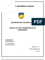 53632473 Data Warehouse