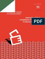 """Revista ISEES, volumen 11, """"Interculturalidad y ciudadanía"""