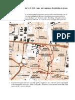 AutoCAD 2000-áreas en mapas digitales