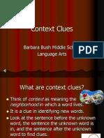 Context Clues Ppt[1]