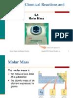 6.5 Molar Mass