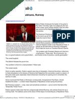 Rubio Revs Up Republicans, Romney