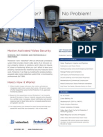videofied nam p1 go anywhere sentry brochure