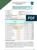 Cronograma de Trabajos III Bim - 2do Año 2012 VI CICLO