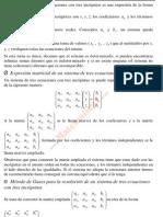 Sistemas de ecuaciones lineales (Matemáticas CCSS II)