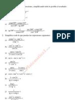 Trigonometría. Números complejos (Matemáticas I)