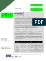 Accentia Research Report