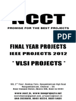 Ieee Vlsi 2012-13 Projects