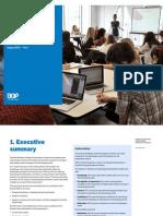 One World Media Student Programme Evaluation