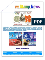 Rainbow Stamp News August 2012 New