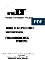 IEEE Power Electronics 2012-13 Projects