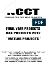 Feedback Control Problems Using Matlab and the Control System