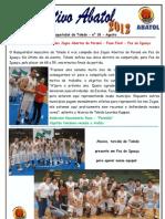 Informativo Abatol Toledo - Agosto 2012