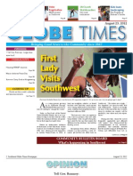 Southwest Globe Times August 26, 2012