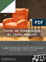 Curso de Dramaturgia Kreative Front