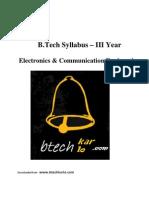 B.tech MDU Syllabus (ECE) 3yr