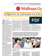 Wolfram Alpha 9. svibnja 2009. najava