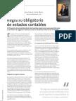 Registro obligatorio de estados contables