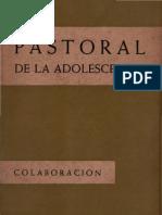 Varios Autores - Pastoral de La Adolescencia