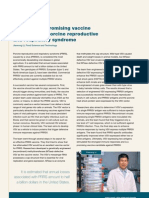 Developing a promising vaccine candidate for porcine reproductive and respiratory syndrome